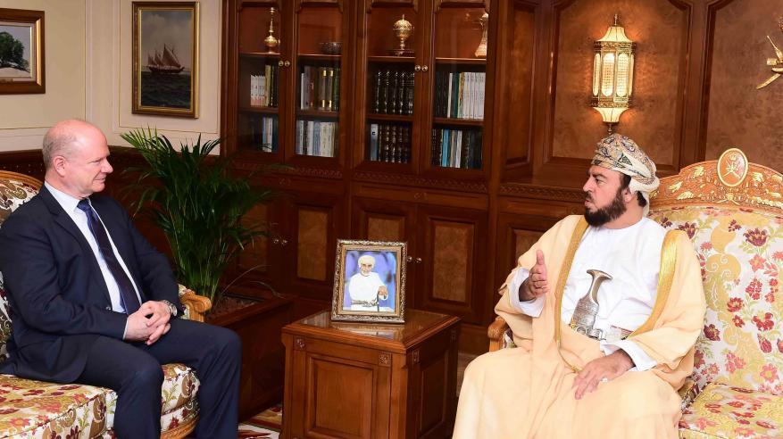 السيد أسعد يستعرض مع السفير الأمريكي التعاون الثنائي القائم بمختلف المجالات