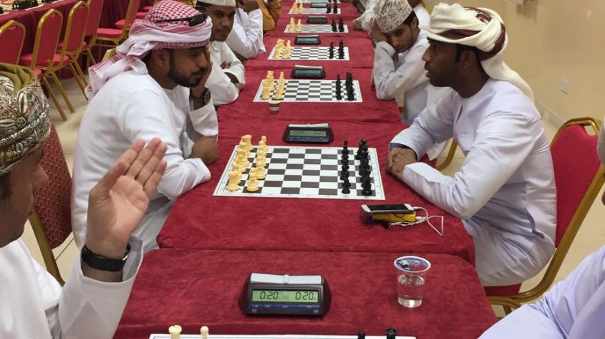 نادي النهضة يشارك في بطولة عُمان للشطرنج