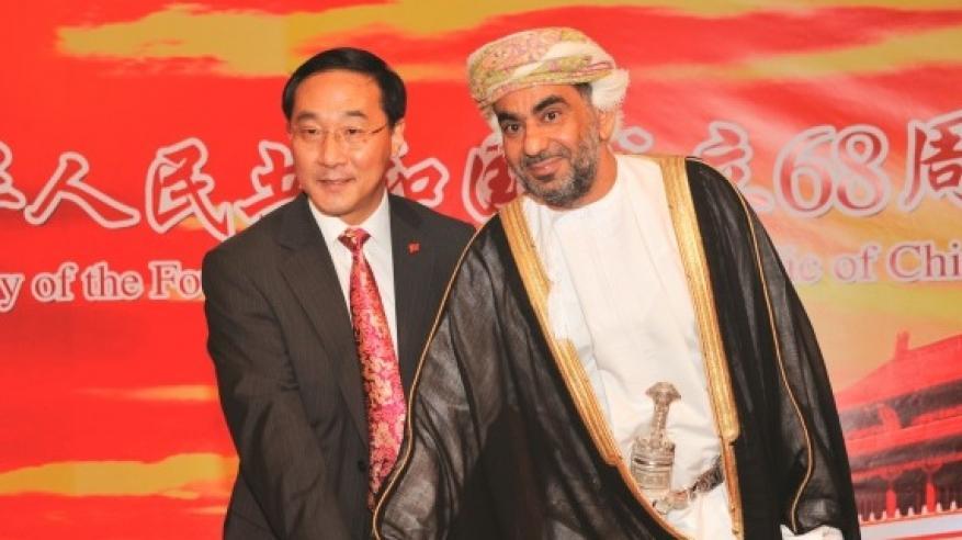 سفير بكين لدى السلطنة يؤكد عمق العلاقات الثنائية في احتفال العيد الوطني للصين