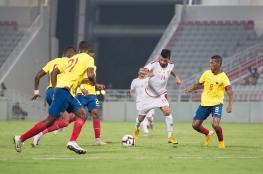 منتخبنا يتعادل سلبيا مع الإكوادور في مباراة قوية