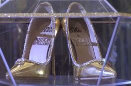 بالفيديو .. أغلى حذاء في الخليج بـ 17 مليون دولار