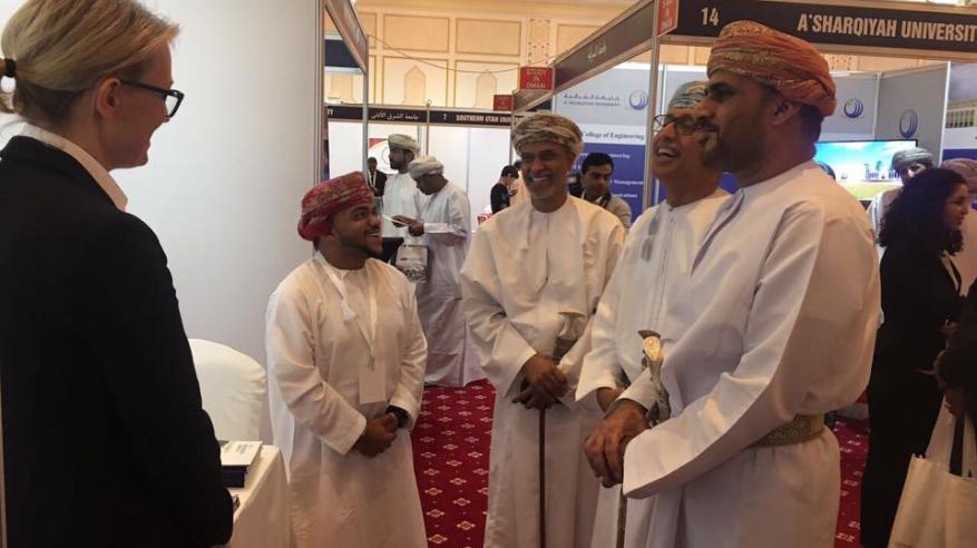 """""""عمان للسياحة"""" تشارك في معرض التعليم والتدريب بصلالة"""