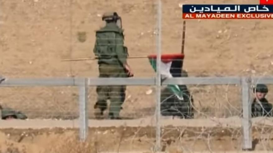 """بالفيديو.. قصف 6 جنود إسرائيليين في عملية عسكرية لـ """"المقاومة الفلسطينية"""""""