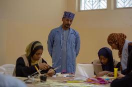 جمعية المرأة بوادي بني خالد تنظم دورة في السعفيات