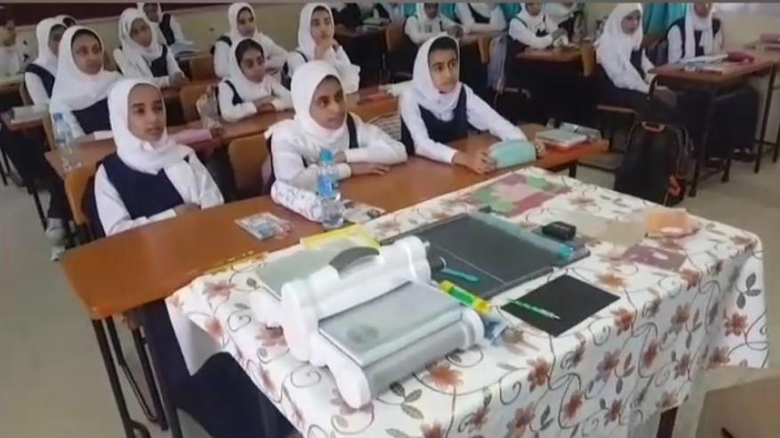 معرض مدرسي لدعم المشاريع المنزلية في البريمي