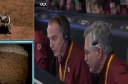 """بالفيديو والصور.. لحظة هبوط المسبار """"إنسايت"""" على سطح المريخ"""