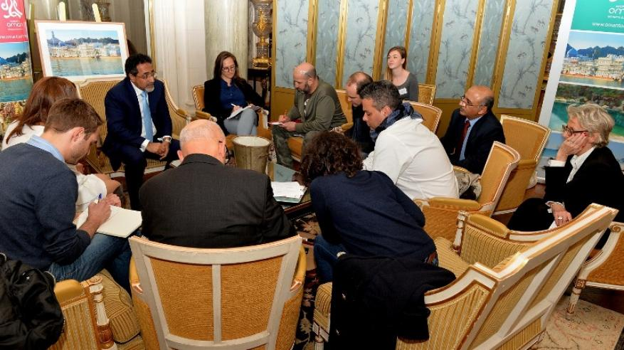 لقاءات واجتماعات معالي الوزير في فرنسا (3)