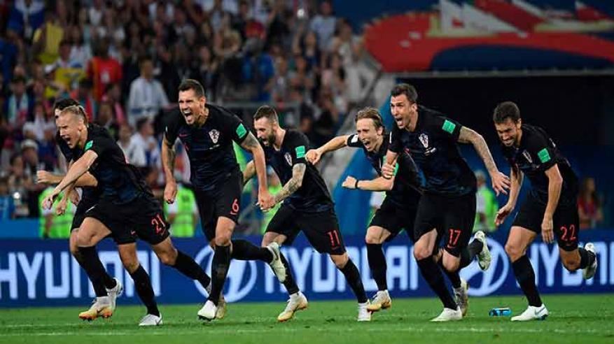 كرواتيا تقلب الطاولة على إنجلترا وتتأهل للمرة الأولى إلى نهائي المونديال