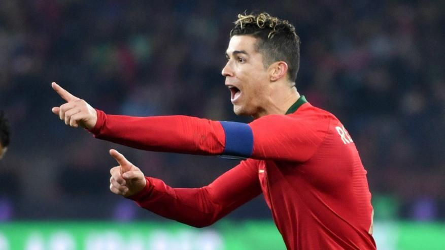 استبعاد رونالدو من تشكيلة البرتغال