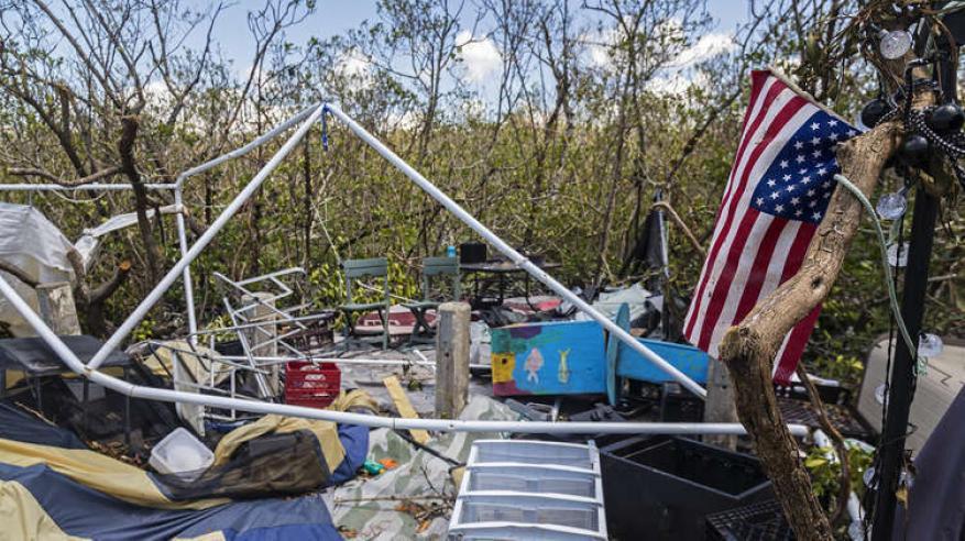 بالفيديو.. إعصار يقتل 8 أشخاص في أمريكا