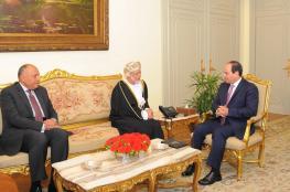 السيسي يشيد بمواقف جلالة السلطان الداعمة لمصر