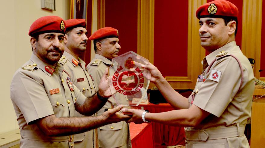 تكريم الفائزين بالمسابقة الثقافية للجيش السلطاني العماني