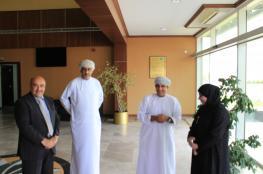"""بحث التعاون بين""""البريمي الجامعية"""" و""""تعليمية البريمي"""""""