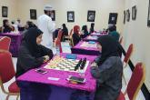 طالبة بجامعة السلطان قابوس تحصل على المركز الثالث في بطولة التعليم العالي للشطرنج