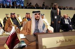 """مشاركة """"خاطفة"""" لأمير قطر في قمة بيروت .. والدوحة تودع مليار دولار في """"المركزي اللبناني"""""""