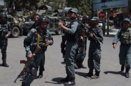 مقتل 11 شرطي أفغاني على يد اثنين من زملائهم