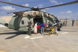 سلاح الجو السلطاني ينفذ عملية إخلاء طبي لمواطنة بولاية خصب