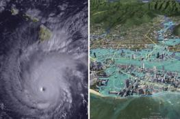 بالفيديو والصور..العاصفة المدارية لين تتسبب بأمطار غزيرة وسيول جارفة في هاواي
