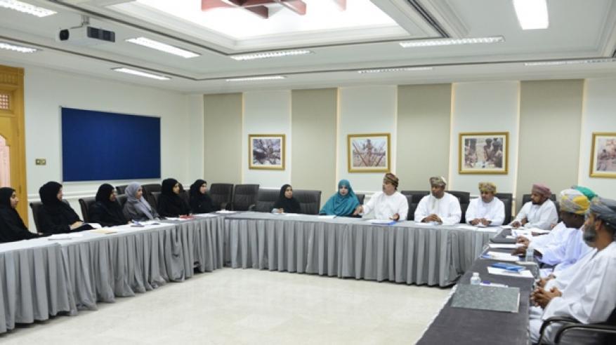من اجتماع المدير العام برؤساء أقسام الكشافة والمرشدات بالمحافظات