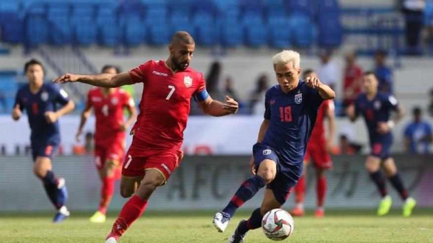 تايلاند تفجر مفاجأة وتفوز على البحرين بهدف نظيف