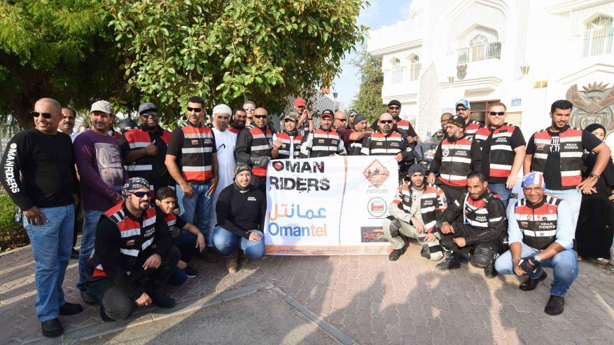 """انطلاق """"رحلة السلام والمحبة"""" إلى جنوب أفريقيا بمشاركة 9 دراجين عمانيين"""