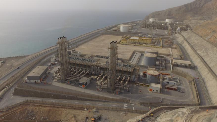 بدء التشغيل التجاري لمحطة مسندم المستقلة لتوليد الكهرباء أول مشروع عماني من نوعه