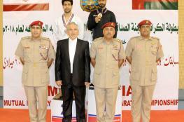"""تتويج الفائزين بمنافسات الكاراتيه """"العسكرية العمانية الإيرانية"""""""