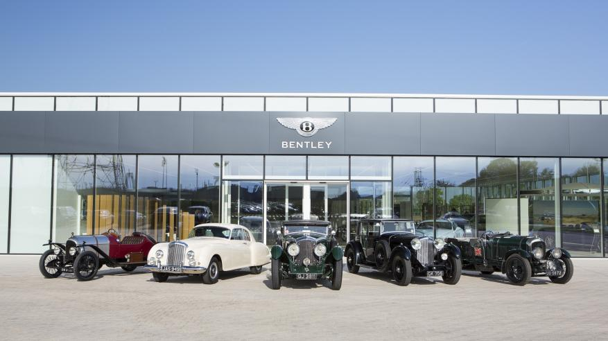 Image 1 - Classic Bentleys ready for Centenary year