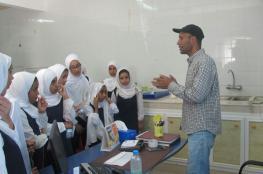 """طالبات """"أسماء بنت النعمان"""" يقمن بزيارة مركز تأهيل وإكثار الحياة الفطرية"""