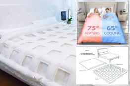 لحاف ذكي لحل مشاكل النوم عند الأزواج