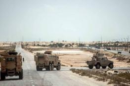 """مقتل وإصابة 15 عسكريا مصريا بسيناء في """"هجوم إرهابي"""""""