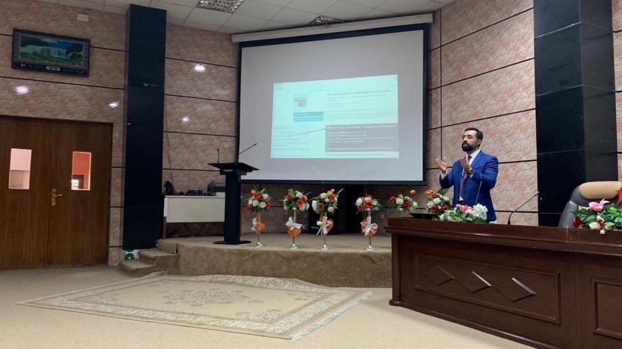 أكاديميان من تربية الرستاق يشاركان في مؤتمر الهندسة ببغداد