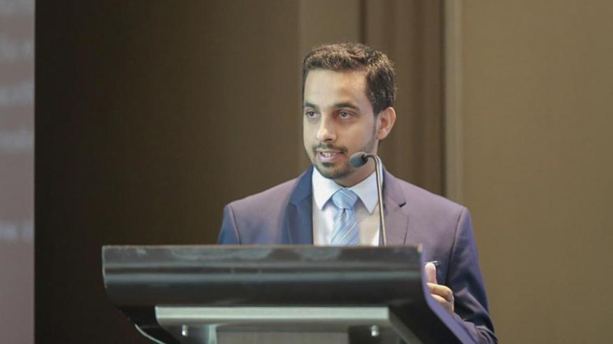 خالد الصالحي يقدم عرضاً حول الفرص الاستثمارية المتاحة في المناطق الصناعية التابعة لـ مدائن