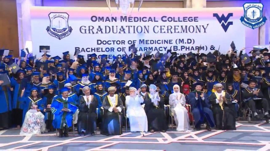 """""""عمان الطبية"""" تحتفل بتخريج 174 في مختلف التخصصات"""