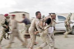 بالفيديو.. شاهد لحظة استهداف أكبر قاعدة عسكرية في اليمن