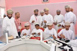 """افتتاح مشروع """"ابتكار عمان"""" في شمال الشرقية.. والروبوت والطابعات ثلاثية الأبعاد من أبرز الأقسام"""