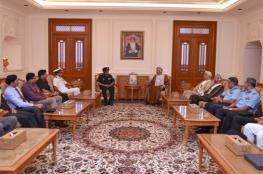 """رئيس """"الشورى"""" يستعرض العلاقات الثنائية مع وفد عسكري هندي"""
