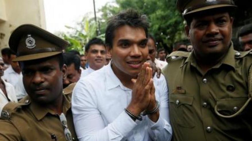 القبض على ابن رئيس سريلانكا السابق بتهمة غسل الأموال
