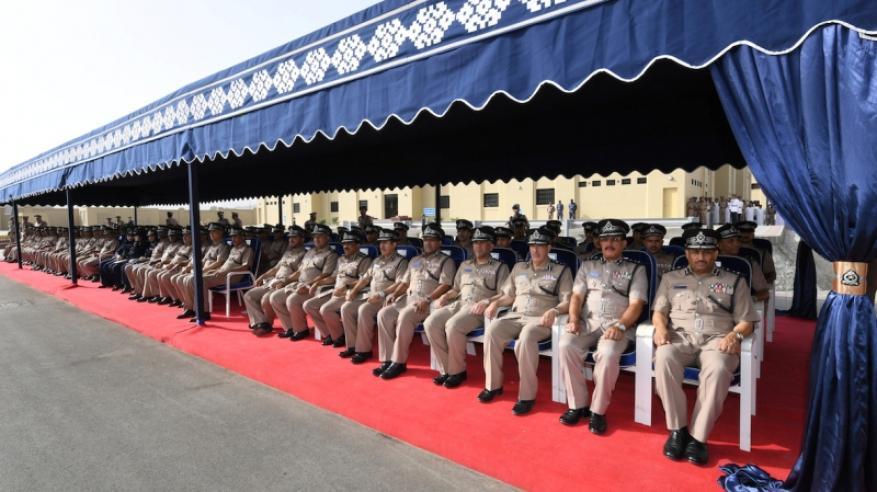 شرطة عمان السلطانية تحتفل بافتتاح المبنى الجديد لمركز شرطة العامرات2