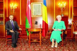 رغبة مشتركة بين السلطنة ورومانيا في توسيع العلاقات الثنائية