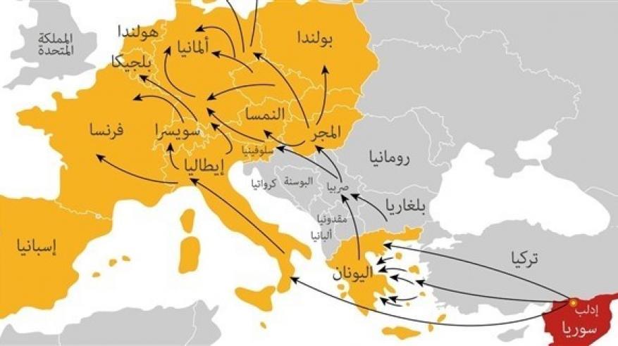 أردوغان يتوعد بإغراق أوروبا باللاجئين السوريين
