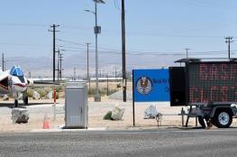 زلزال كاليفورنيا يتسبب في إغلاق قاعدة جوية أمريكية