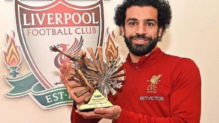 """صلاح يحصد جائزة """"بي.بي.سي"""" لأفضل لاعب إفريقي للعام الثاني"""