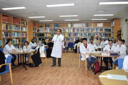 ورشة حول سلامة المختبرات الطبية بمستشفى نزوى