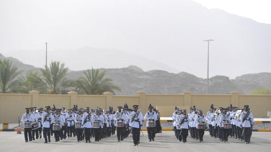 شرطة عمان السلطانية تحتفل بافتتاح المبنى الجديد لمركز شرطة العامرات6