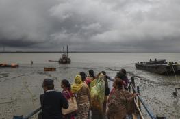 """بالفيديو.. الإعصار """"بلبل"""" يقتل 6 أشخاص في بنجلاديش"""