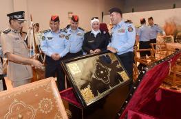 وفد أردني يزور شرطة عمان السلطانية