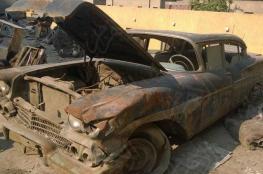 """بالصور.. كيف أصبحت سيارة جمال عبد الناصر بعد """"ترميمها"""""""