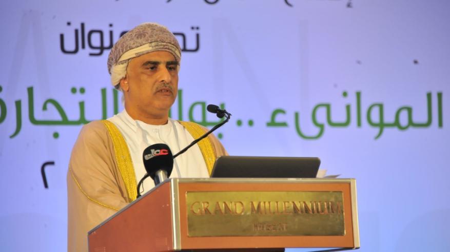"""بالفيديو.. كلمة المكرم حاتم الطائي في افتتاح """"مؤتمر عمان للموانئ"""""""