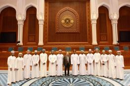 طلبة كلية الحقوق بجامعة السلطان قابوس في زيارة لمجلس الدولة